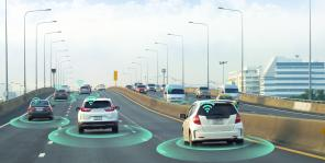 Automated vehicles driving on a freeway